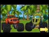 Вспыш и чудо машинки Гонка на помощь Игра мультик Race cars Kids games