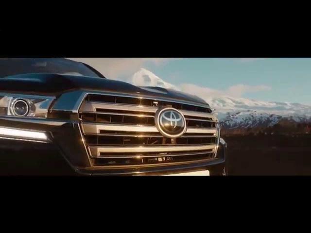 Реклама Toyota Land Cruiser 200 (2016) | Тойота Ленд Крузер