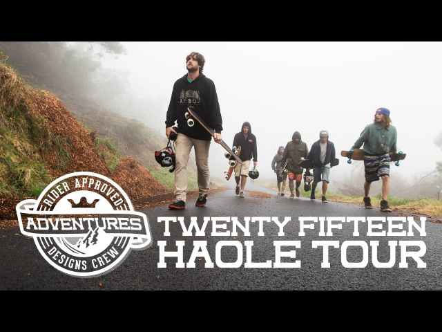 R.A.D. Haole Tour 2015 - Hawaii Skate-Cation