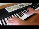 Обучение на синтезаторе Jasper Forks River Flows In You by Toffa Alimoff