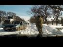 Снежный занос буквально вчера Каролино-Бугаз Роксоланы 19,01,2016