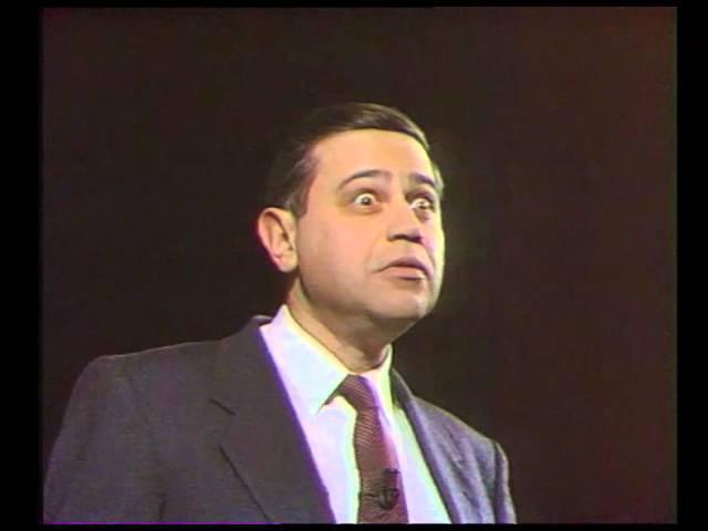 Е. Петросян - монолог в образе Засланцы (1989)
