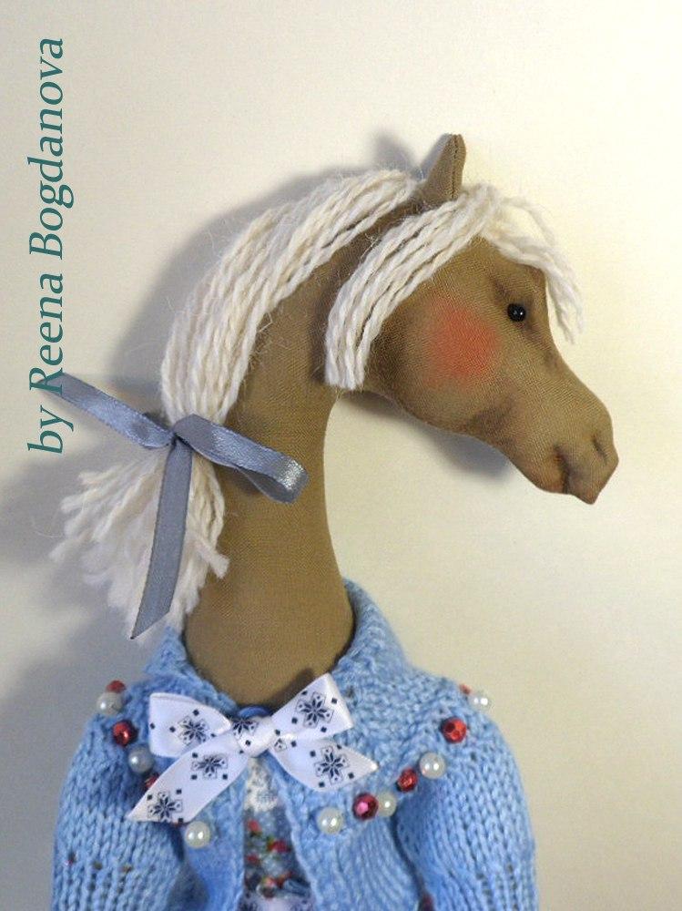 кукла лошадка