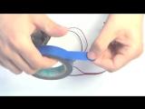 Как сделать иллюзию CD своими руками - How to make an optical illusion of spinning disks