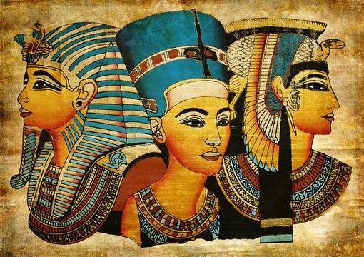 Египетский макияж на свадьбу