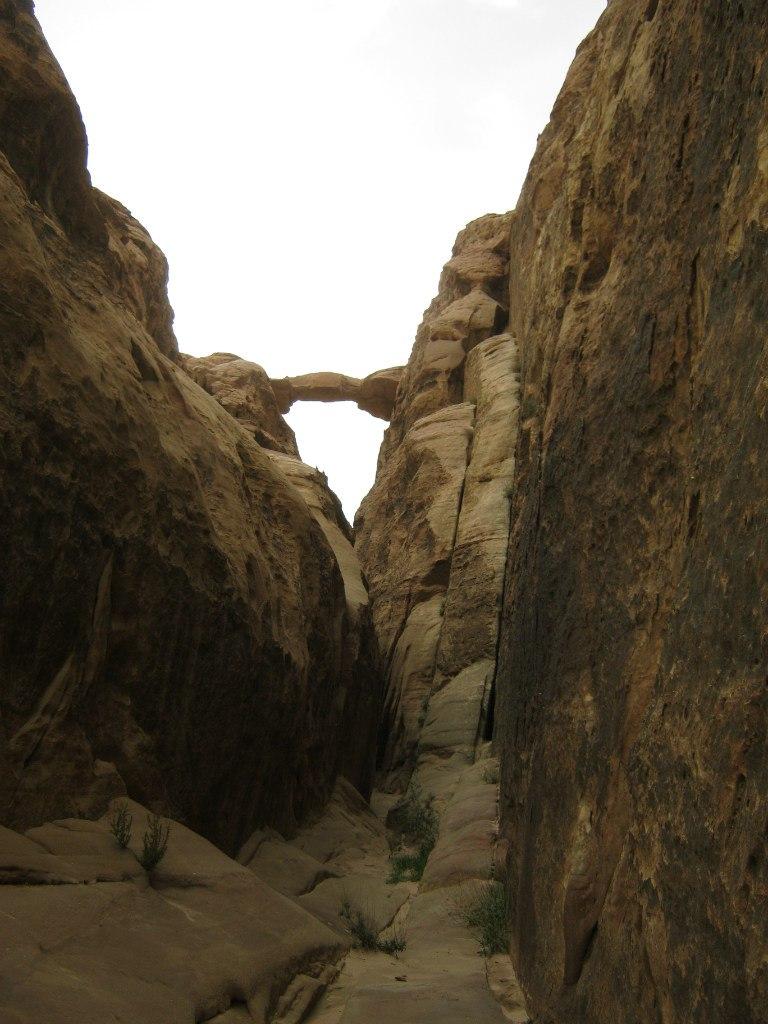 Burdah Rock Bridge в Вади Рам