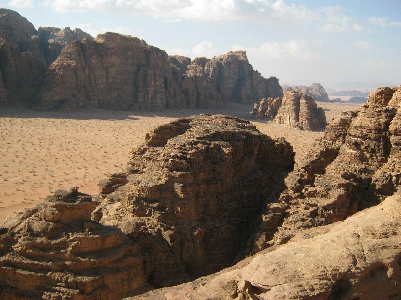 Скалы в Вади Рам