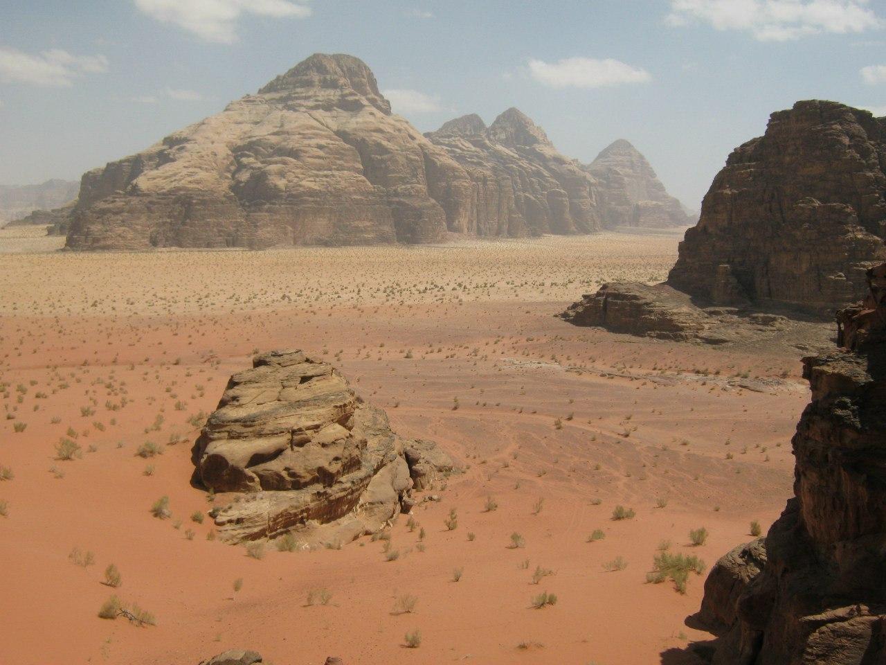 Заповедник Вади Рам в пустыне