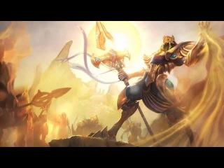 Azir Russian Voice - Русская Озвучка Азира - League of Legends ( ИМПЕРАТОРУ НЕ НУЖЕН БАРОН )