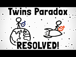 Решение парадокса близнецов 2/2