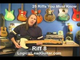 25 Riffs You Must Know - Riff 8 - How To Play Lead Guitar