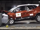 Краш-тест | Renault Captur 2013 (crash test)