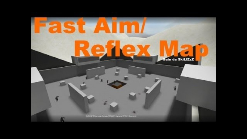 Playing on FAST AIM/REFLEX TRAINING MAP