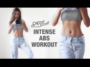 Intense Abs Workout Routine - 10 Mins Flat Stomach Exercise