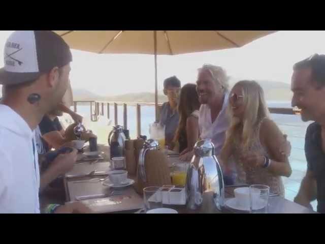 Virgin Life - a day on Necker Island