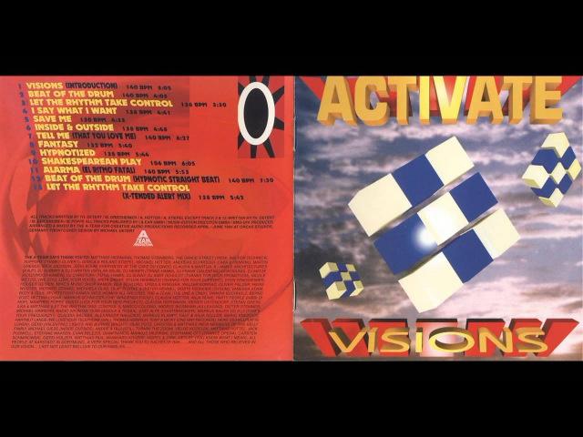 Activate - Visions (1994) (Full Album)