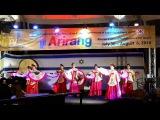 The Fan Dance - Traditional Korean Dance, Jerusalem 4 August 2016