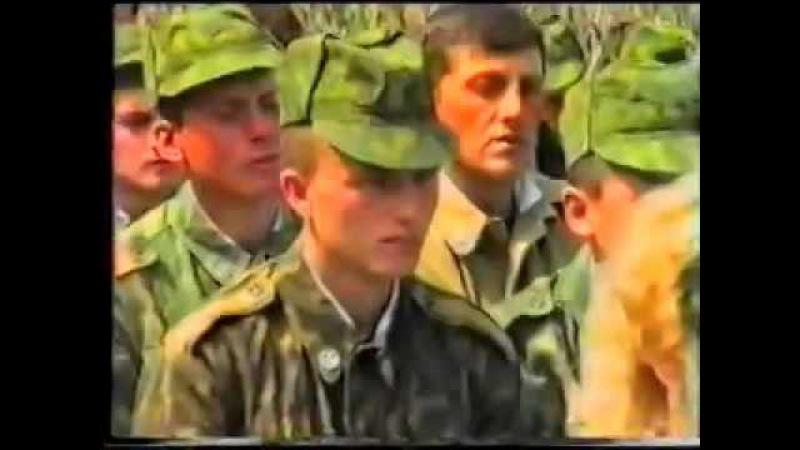 В/ч 10885 ,109- ОИСБ, Волжский 1996 год.
