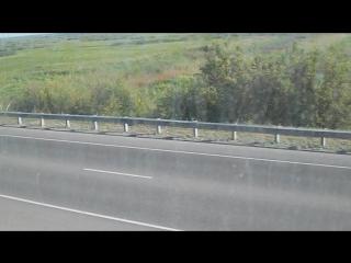 Электропоезд ЭД9М-0174. Покатушки от моста через Обь до Присягино-2.