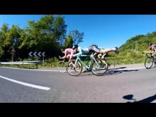 Законы физики не чужды велоспорту!