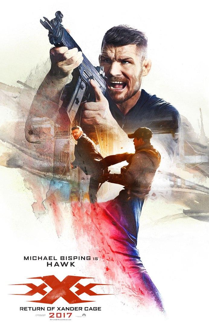 Майкл Биспинг снялся в фильме «Три Икса: Мировое Господство»