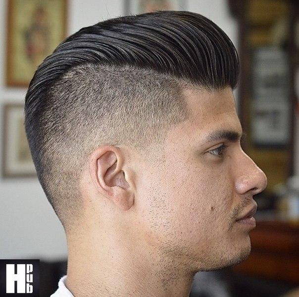 Прическа на средние волосы с челкой мужские