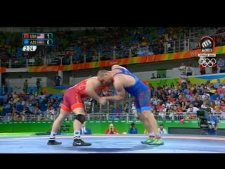 Рио 2016 Финал 97 кг - Хетаг Гозюмов (Азербайджан) vs Кайл Снайдер (США)