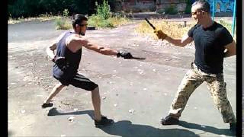 Казачий ножевой бой Тренировки август КНБ