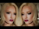 Night out Hollywood glam Gold Red MakeupTutorial Alaska L H