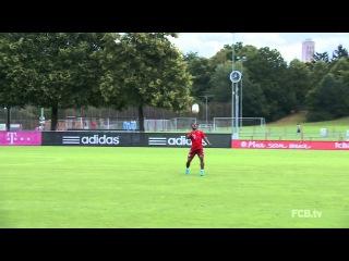 Супер Тренировка Баварии Мюнхен / Don't touch the ground!