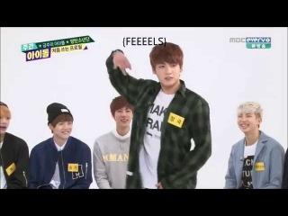 140430 Bangtan Boys (BTS) - Girl Group Dances Weekly Idol