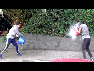 WATER BALLOON FIGHTS WITH STRANGERS