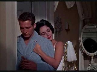 Elisabeth Taylor y Paul Newman (insoportablemente bella) zero