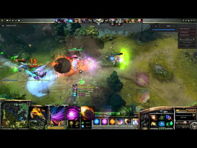Dota 2 - Invoker Rampage w Refresher Orb - HD 1080p