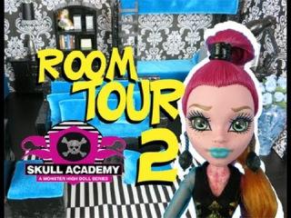 Monster High Ghouls Dorm Room 2 Tour #monsterhigh #roomtour