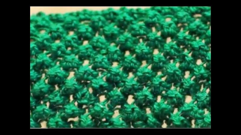 Узор каракуль. Рельефный узор спицами. Вязание узора спицами. (doodle pattern)