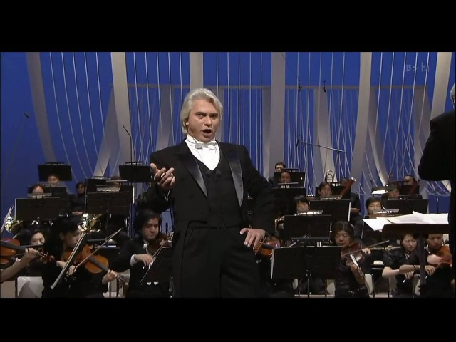 Dmitri Hvorostovsky - Largo al factotum (Japan 2005) HD