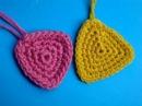 Вязание крючком Урок 214 Треугольник triangle crochet motif