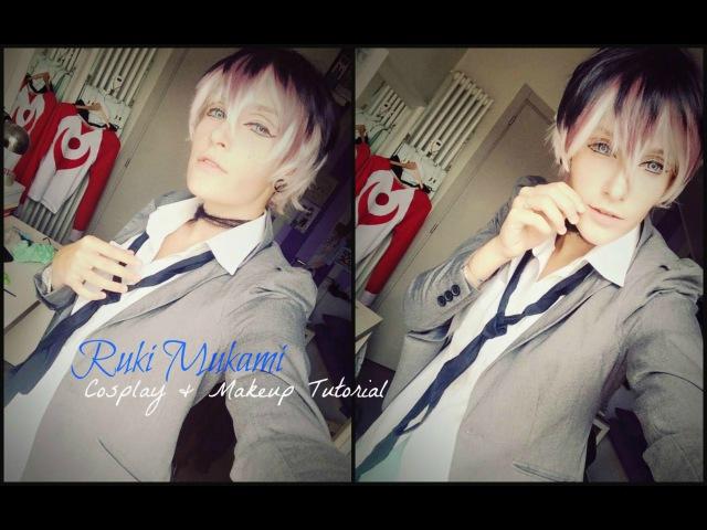 Ruki Mukami Cosplay Makeup Tutorial Diabolik Lovers More Blood