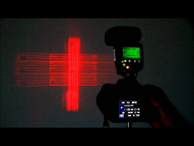 Вспышка Canon Speedlite 600EX-RT: подсветка автофокуса