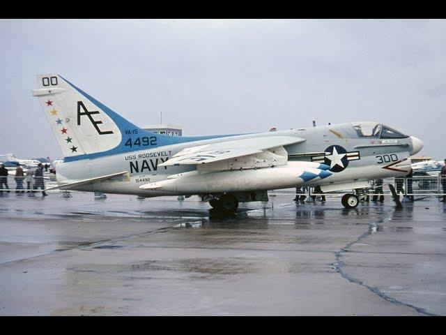 Знаменитые самолеты. Серия 10. LTV A-7 Corsair II