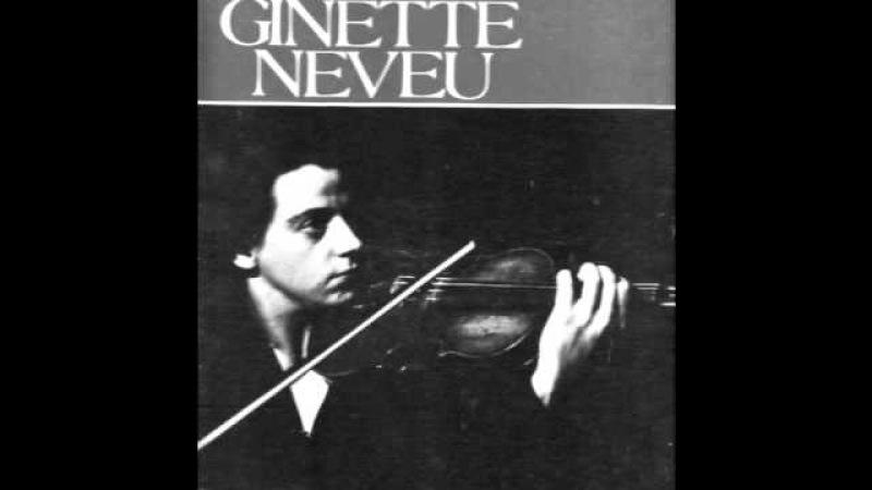 Ginette Neveu - De Falla La vida breve