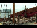 DRAGON HARALD FAIRHAIR: LAUNCHING - NAMING - HOISTING THE SAIL