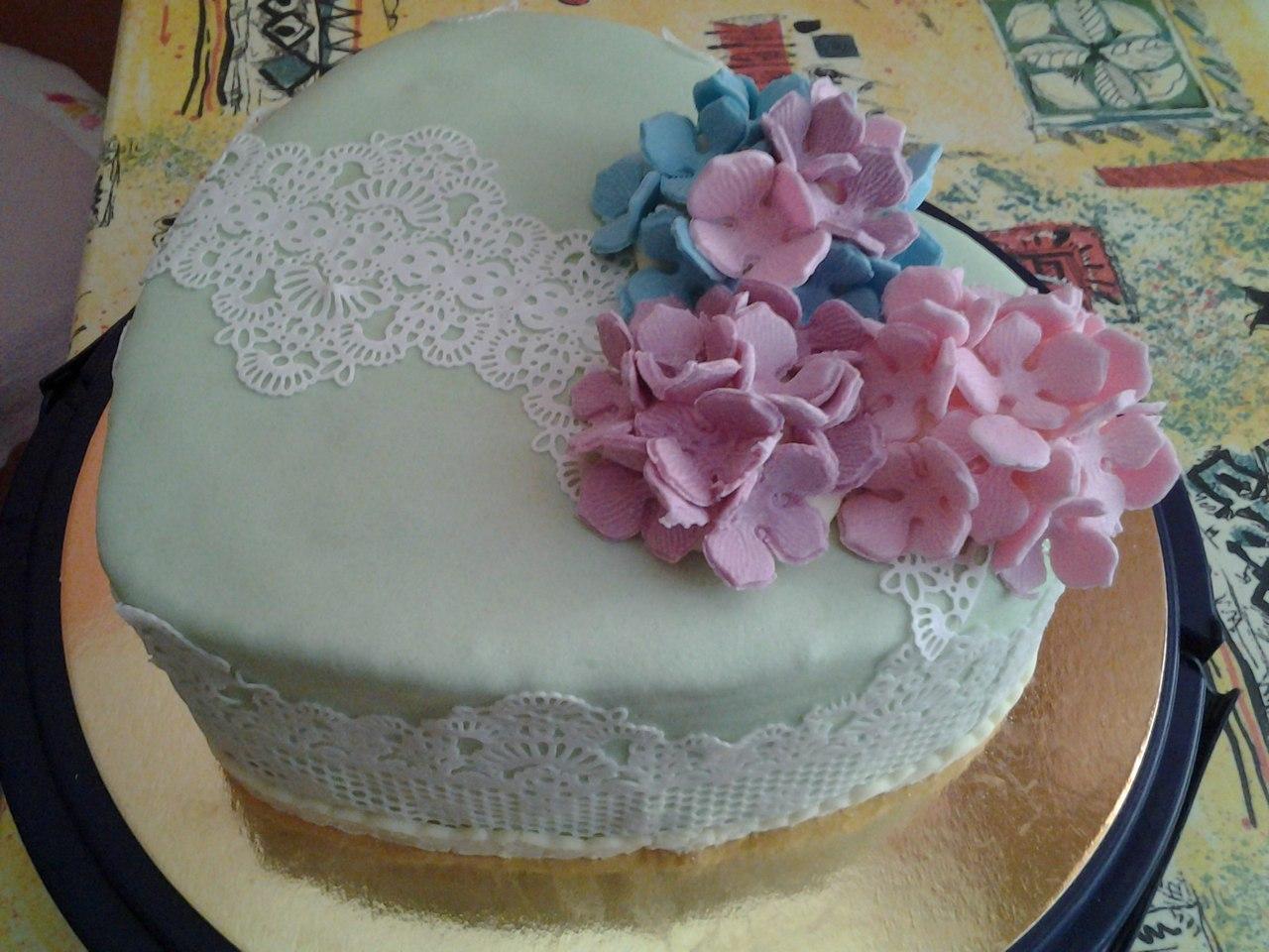Украшение тортов с мастикой фото