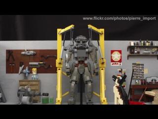 Реконструкция сюжета Fallout 4 из конструктора LEGO