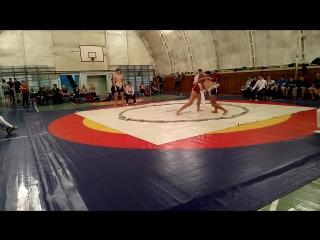 Чемпионат Удмуртской Республики по борьбе сумо Зиатдинов Рустем 85 кг.