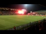 Górnik 0-2 Legia. Puchar Polski. 1/16 finału. Kibice Legii