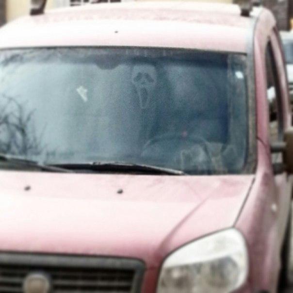 Обычный четверг, обычный день, обычный Ghoustface на обычной парковке