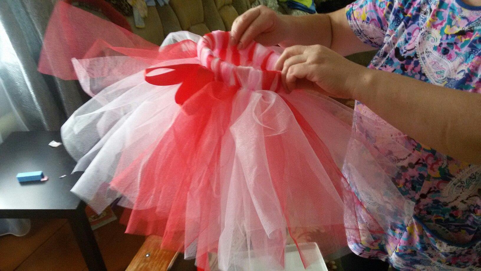 Как сделать юбку пачку из фатина фото
