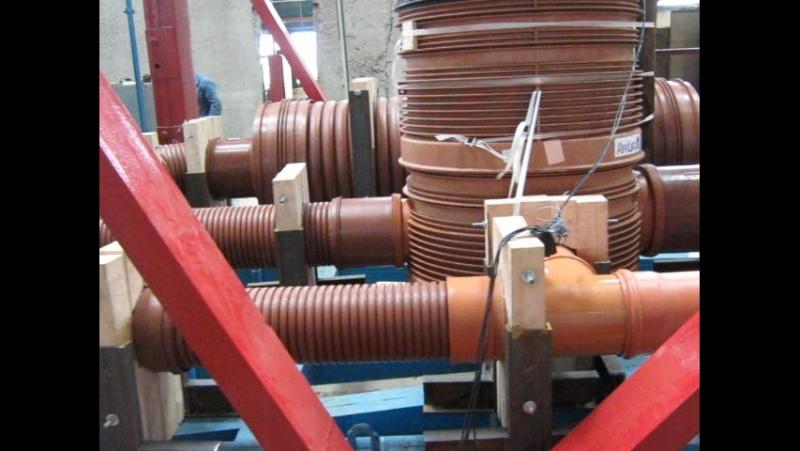 Динамическое испытание безнапорных трубопроводов Pipelife